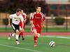 High School Boys Varsity Soccer, Binghamton Patriots at Corning Hawks, September 5, 2012.