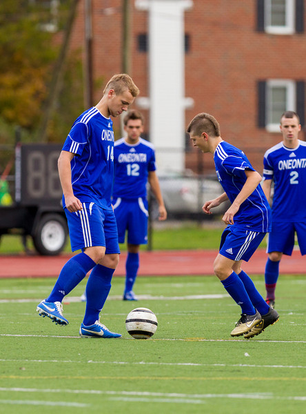 Boys High School Varsity Soccer, Oneonta at Corning, STAC Class AA Dvision 1 Championship, October 19, 2012.