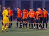 Boys High School Varsity Soccer, Section 4 Class AA Semifinal, Union-Endicott Tigers at Corning Hawks, October 23, 2012.