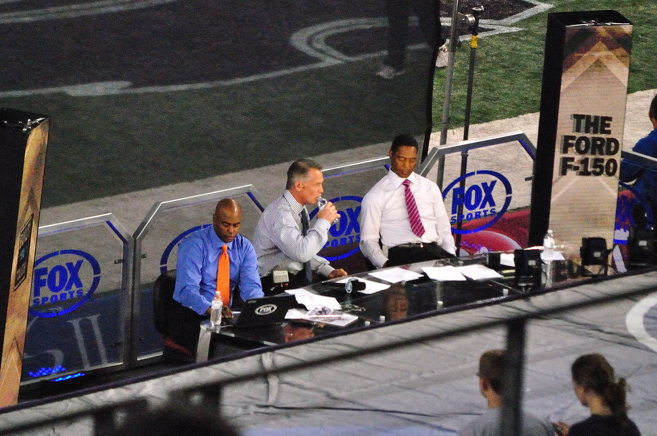The Fox/K State broadcasters
