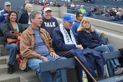 12-9-29. Cheering at Yale Bowl, 8G v. Cheshire.