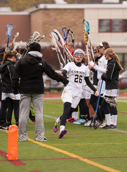 Girls Junior Varsity Lacrosse Owego Free Academy Indians at Corning Hawks, April 27, 2012