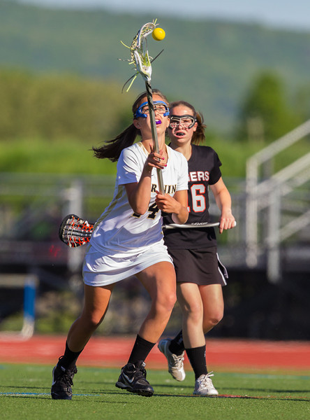 Girls High School Junior Varsity Lacrosse, Union-Endicott Tigers at Corning Hawks, May 17, 2012