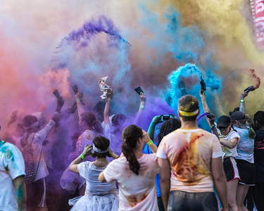 2012 Houston Color Run 5k