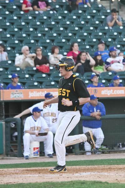 2012 Joliet West Varsity Baseball Game 1 at Central