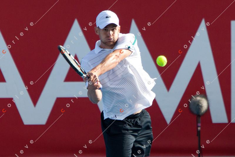 Andy Roddick Vs Gael Monfils  / corleve / Chris Putnam