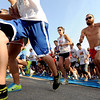 "Runners begin the Lyons River Run 5K on Sunday. Mike Grady (24), right, finished third.<br /> For more photos of the race, go to  <a href=""http://www.dailycamera.com"">http://www.dailycamera.com</a>. or  <a href=""http://www.timescall.com"">http://www.timescall.com</a>.<br /> Cliff Grassmick / June 24, 2012"