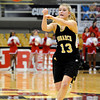 "Monarch High School's Ashton Davis passes the ball during a Colorado State Semifinals game against Regis Jesuit High School on Wednesday, March 7,  at the Coors Event Center on the University of Colorado campus in Boulder. Monarch won the game 69-57. For more photos of the game go to  <a href=""http://www.dailycamera.com"">http://www.dailycamera.com</a><br /> Jeremy Papasso/ Camera"