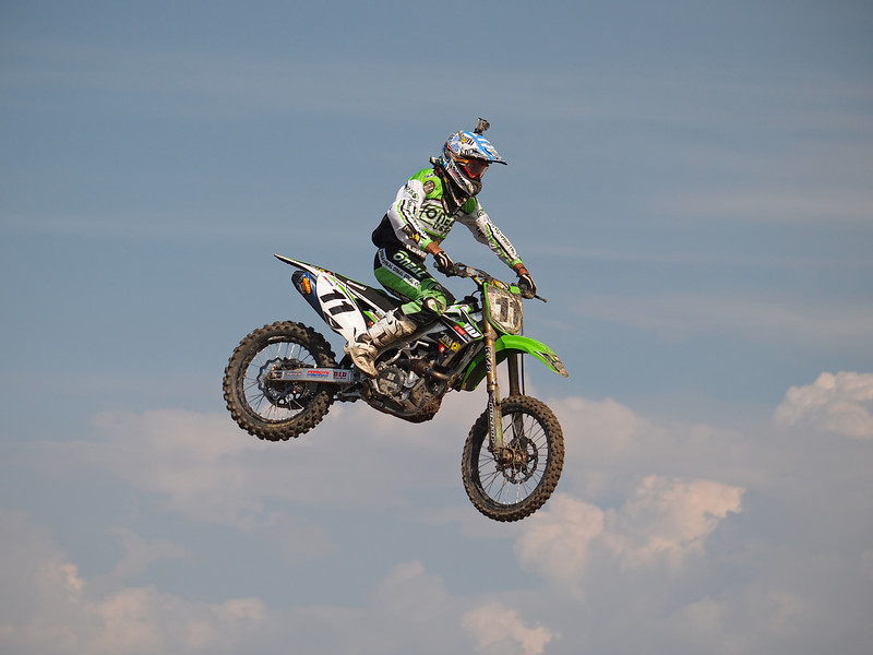 Kyle Chisholm in 450 Moto 2 at Lake Elsinore - 8 Sept 2012