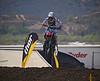 Justin Barcia leads 250 Moto 1 at Lake Elsinore - 8 Sept 2012