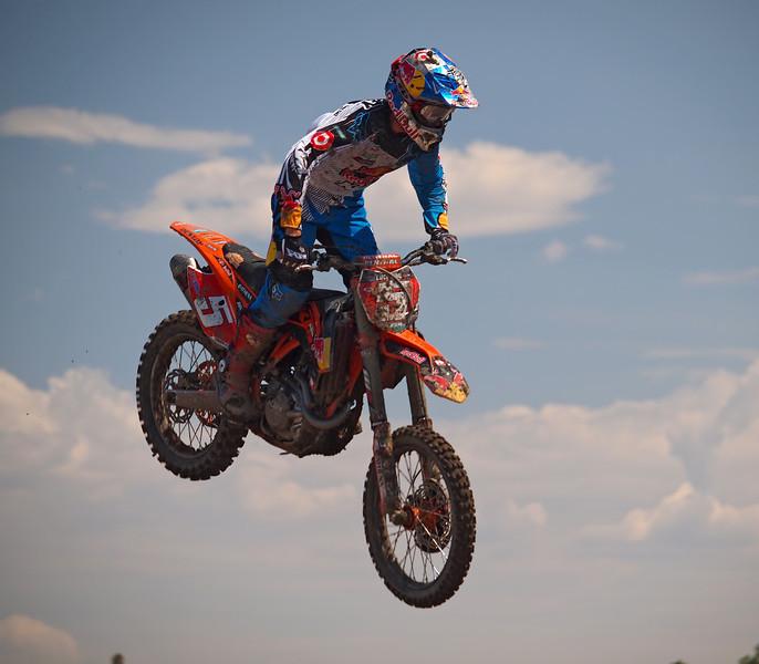 Ryan Dungey in 450 Moto 1 at Lake Elsinore - 8 Sept 2012