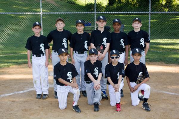 2012 NWLL Majors White Sox