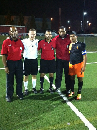 Captains and Referees for 2012 BAS Cup Final
