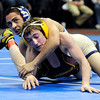 "Broomfield High School's Drew Romero, left, wrestles Windsor High School's Jonathan Lewis on Saturday, Feb. 18, in the Class 4A 106-pound championship match during the 2012 Colorado State Wrestling Championships at the Pepsi Center in Denver. Romero won the match to clench the state title. For more photos of the Championship matches go to  <a href=""http://www.dailycamera.com"">http://www.dailycamera.com</a><br /> Jeremy Papasso/ Camera"