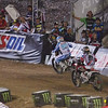 Justin Barcia pressures Mike Alessi in Main Event Moto 2 - 20 Oct 2012