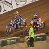 Ryan Dungey pressures Josh Grant in Main Event Moto 1 - 20 Oct 2012