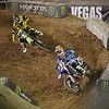 Ryan Vilopoto pressures Josh Grant in Main Event Moto 1 - 20 Oct 2012