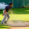 7.08.12  Dust flies as Grant rounds 3rd base