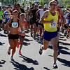 "Former CU runner, Christian Thompson (673) won the 10K of the 2012 Sunrise Stampede in Longmont on Saturday. Lanni Marchant (787), who ran for Canada in this year's Bolder Boulder, was the first female finisher of the  2012 Sunrise Stampede.<br /> For more photos and a video of the race, go to  <a href=""http://www.dailycamera.com"">http://www.dailycamera.com</a> or timescall.com.<br /> Cliff Grassmick / June 9, 2012"