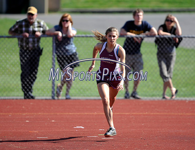 5/17/2012 Mike Orazzi | Staff Bristol Central's Paige McCarthy in the high jump during Thursday's track meet at BC.
