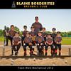 Blaine Borderites Baseball 2012 - Team  5x7