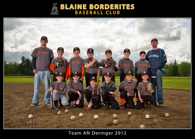 Baseball Team 2012 5x7