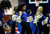 2/11/2012 Mike Orazzi | Staff<br /> Members of the CCSU dance team during Saturday's women's basketball game with in state rival Quinnipiac  at Detrick Gym in New Britain.