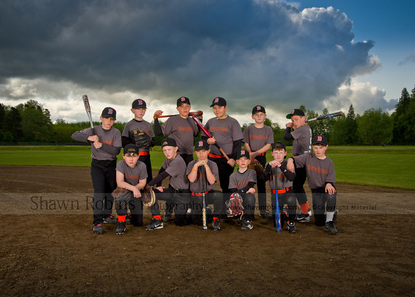 2012 Blaine Baseball  - Color