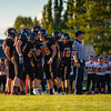 Blaine High School Football vs New Westminster 2012