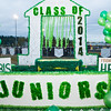 Blaine High School Football vs Lynden Christian - Homecoming Game 2012