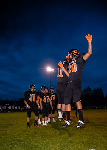 Blaine HS Football 2012 Homecoming Lynden Christian