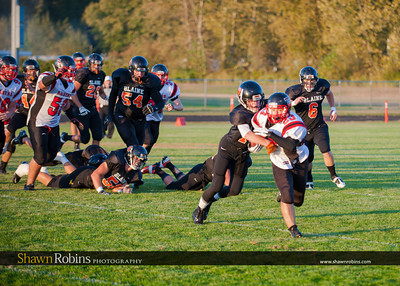 Blaine High School Football vs Terry Fox 2012
