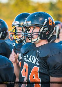 Blaine High School Football vs Terry Fox 2012