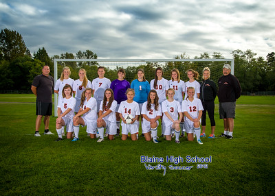 Blaine High School Girls Varsity Soccer