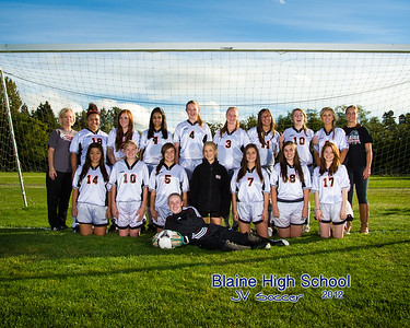 Blaine High School Girls Jr. Varsity Soccer