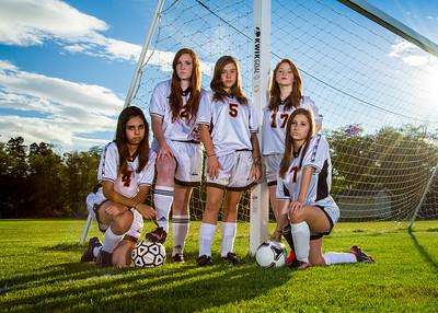 Blaine HS Girls Soccer 2012