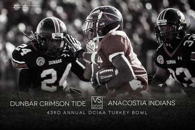 2012 43rd Annual Turkey Bowl - Dunbar vs Anacostia | Cory F. Royster Photography
