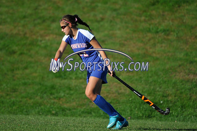 Nonnewaug vs Lewis Mills Field Hockey 2012