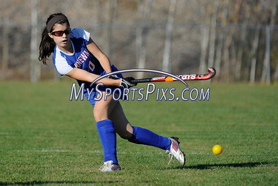 Nonnewaug vs Northwestern Field Hockey 10/22/2012