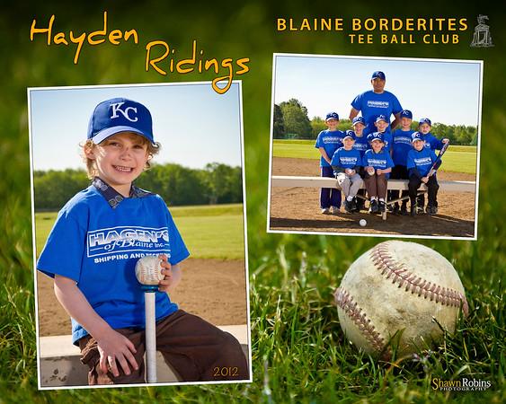 Plaque - Hayden Ridings