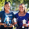2012 Australian Open - Gabrielle Andrews with Taylor Townsend - Junior Girls Doubles Champions / corleve / Mark Peterson
