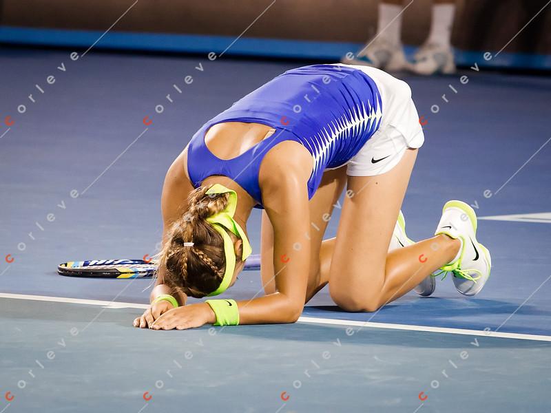 2012 Australian Open - Victoria Azarenka wins / corleve / Mark Peterson