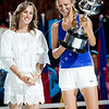 2012 Australian Open - Martina Hingis with Victoria Azarenka / corleve / Mark Peterson