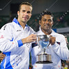2012 Australian Open - Leander Paes and Radek Stepanek / corleve / Mark Peterson