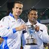 2012 Australian Open - Leander Paes and Radek Stepanek / corleve / Mark Peterson