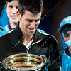 2012 Australian Open - Mens Final winner Novak Djokovic / corleve / Mark Peterson
