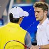 2012 Australian Open - SIMON, Gilles (FRA) [12] vs UDOMCHOKE, Danai (THA) / corleve / Mark Peterson