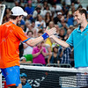 2012 Australian Open - MURRAY, Andy (GBR) [4]  vs LLODRA, Michael (FRA) / corleve / Mark Peterson