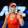 2012 Australian Open - Jelena Jankovic vs Caroline Wozniacki / corleve / Mark Peterson