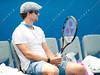 2012 Australian Open - Ana Ivanovic practices / corleve / Mark Peterson